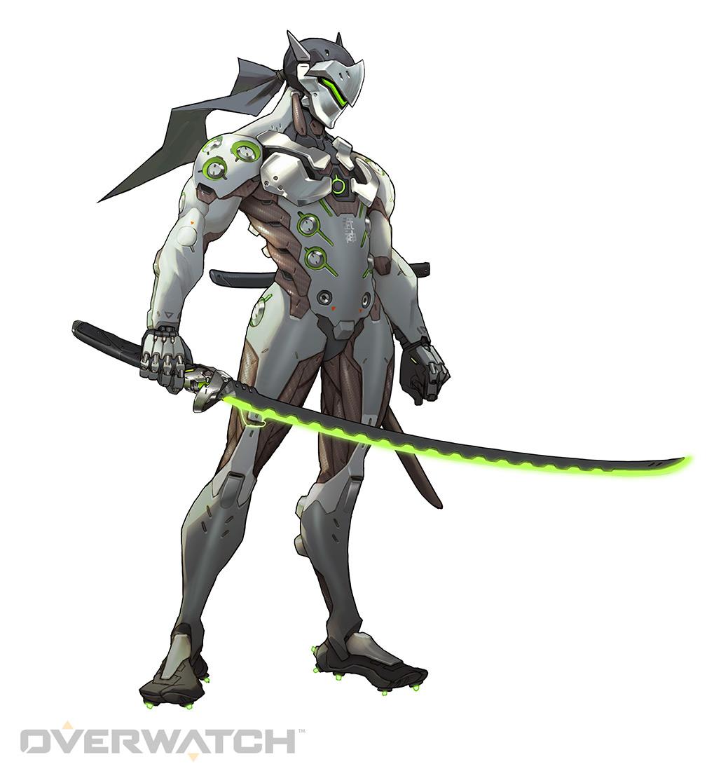 Genji Original Green   Overwatch by PlanK 69 1019x1100