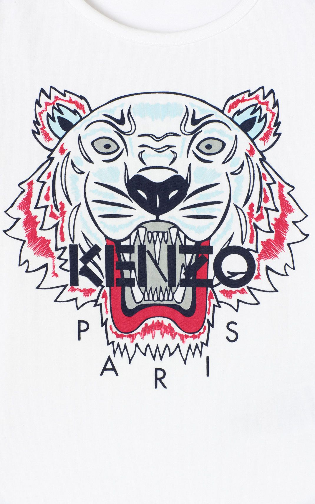 WHITE Tiger t shirt for women KENZO kenzo in 2019 Tiger t 1070x1712