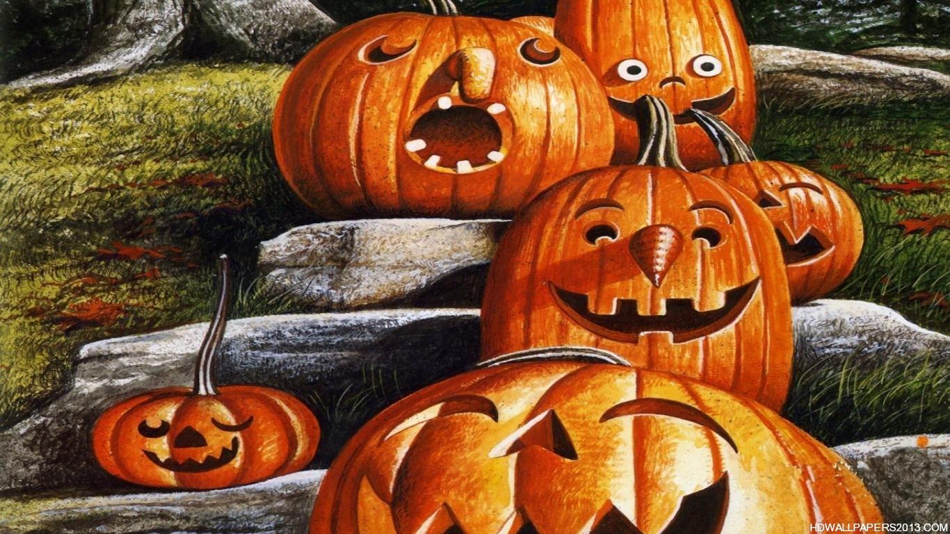 cute halloween wallpaper hd wallpapers cute halloween wallpaper hd 1366x768