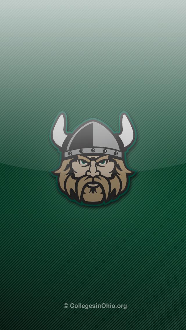 vikings iphone 5 wallpaper 2 Cleveland State Vikings iPhone 5 640x1136