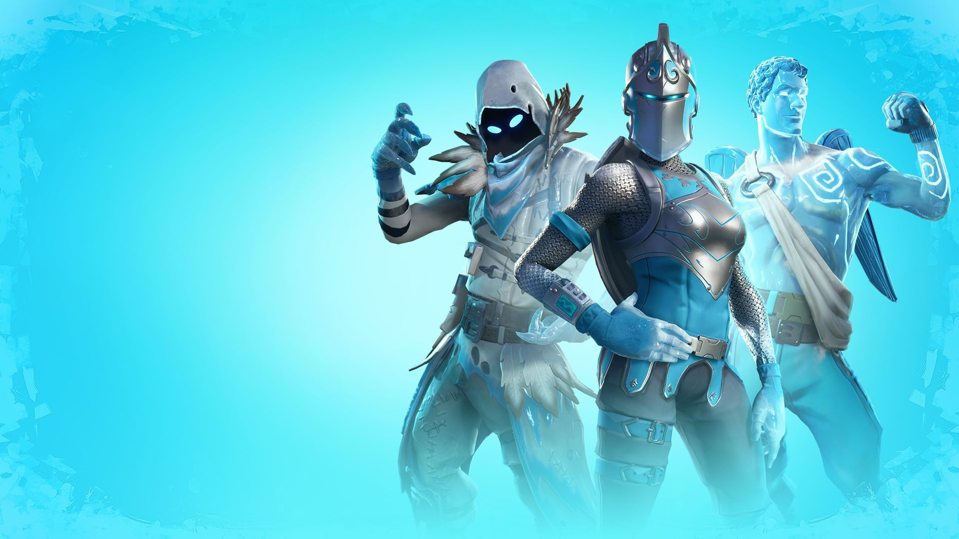 The Fortnite Frozen Legends Pack brings new skins to the market 1920x1080