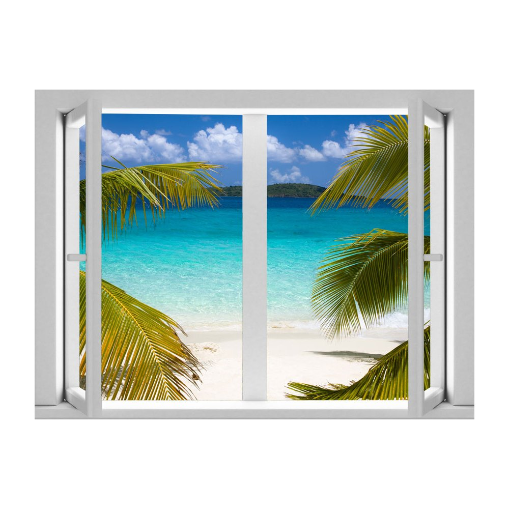 AMD7007 Calm Cabana Removable Large Wallpaper Mural Lowes Canada 1000x1000
