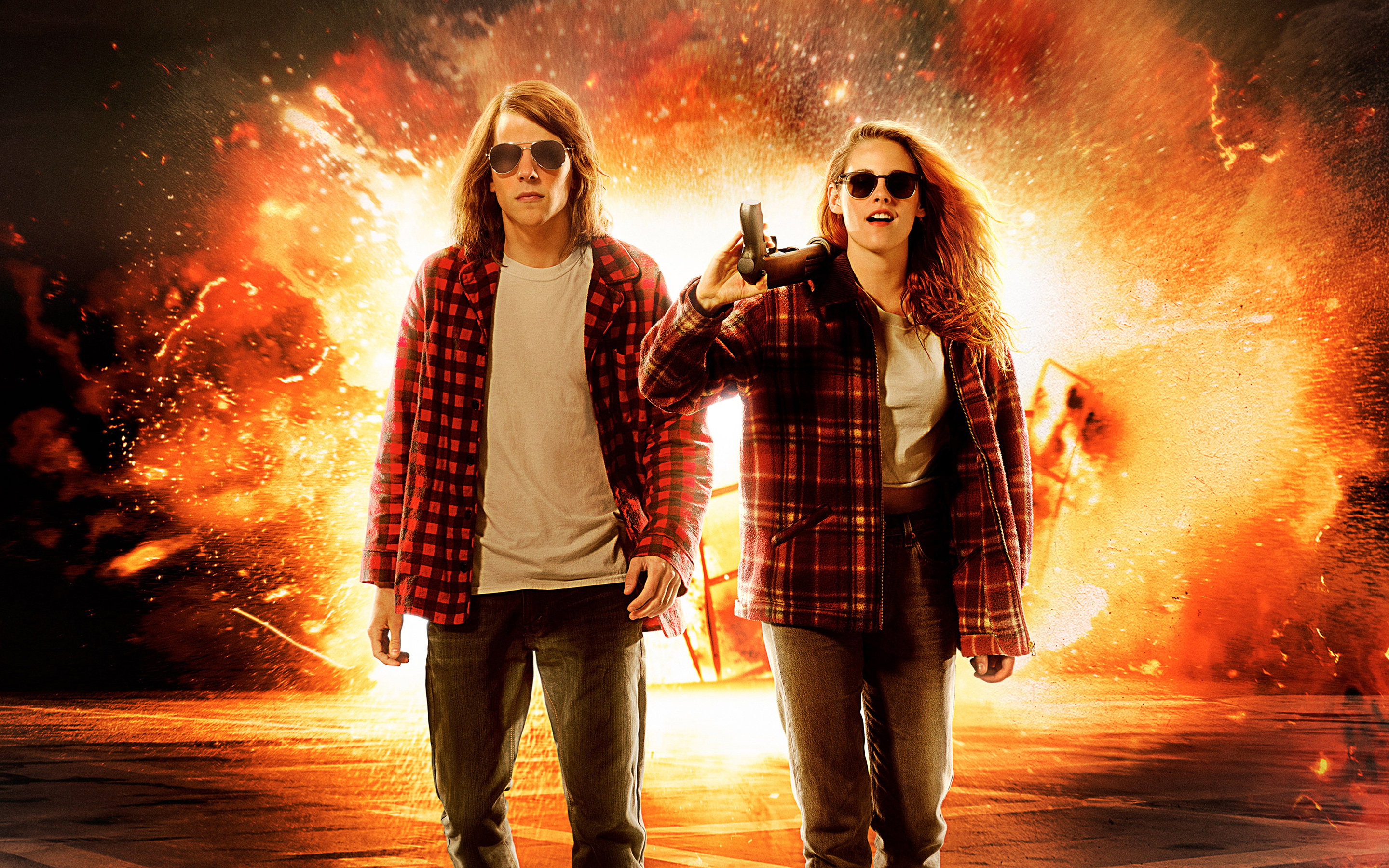 American Ultra Movie Wallpapers HD Wallpapers 2880x1800
