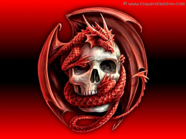 Red-Dragon-Skull-HD-Wallpapers