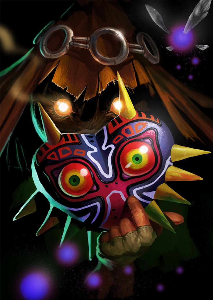 Majoras Mask Skullkid by MaxGrecke 734x1032