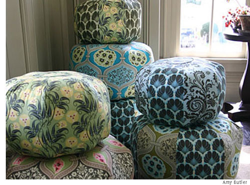 40x40px Amy Butler Wallpaper Patterns WallpaperSafari Interesting Sew A Pouf