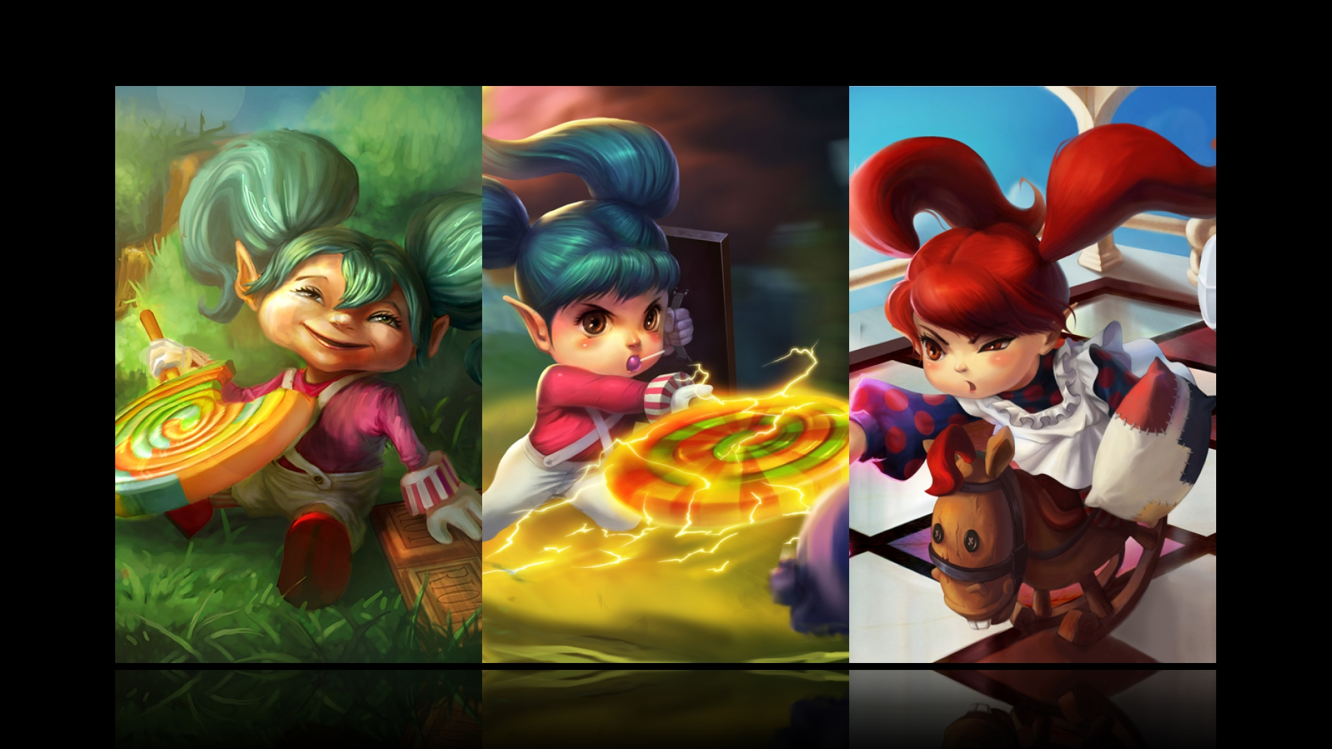League Of Legends Poppy Wallpaper: League Of Legends Poppy Wallpaper