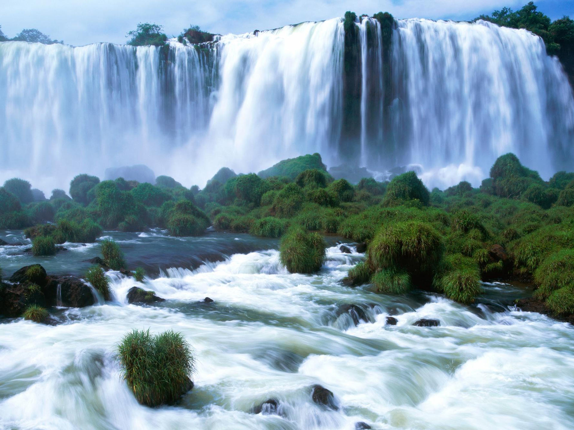 Brazil Waterfall Wallpaper 1920x1440