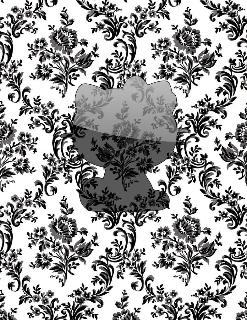 Vintage Wallpaper Hello Kitty Gloss by iHernan 786x1017