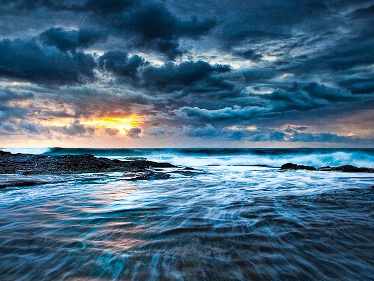 Seascape Sony Tablet S Wallpaper 1280x960