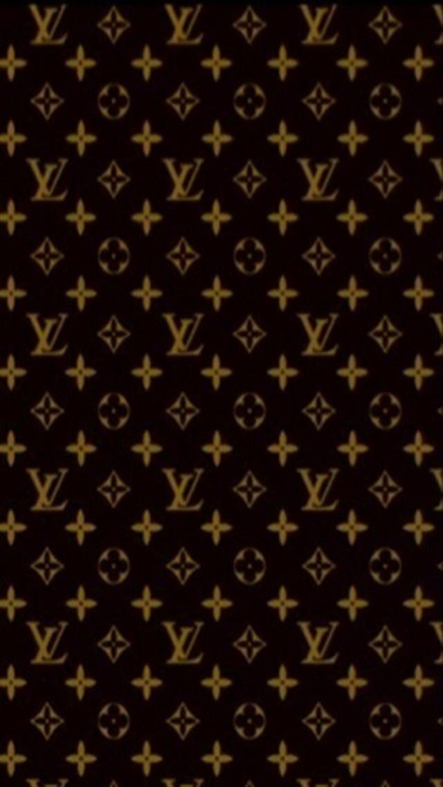 Louis vuitton logo wallpaper wallpapersafari louis vuitton pattern logo iphone wallpapers iphone 5s4s voltagebd Choice Image