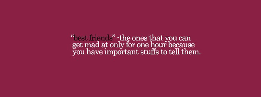 Best Friends Quotes facebook timeline covers We provide the best 850x315