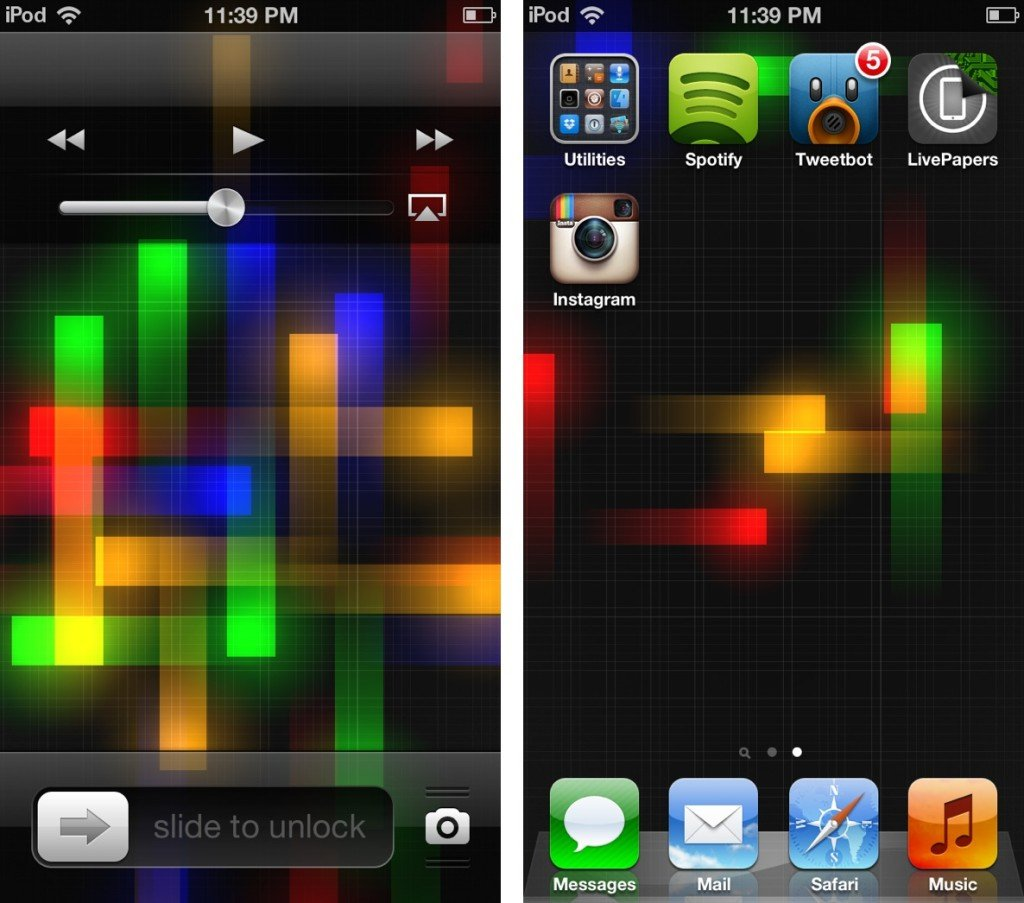 Wallpaper iphone moving - How To Get Animated Wallpapers To Iphone Ipad On Ios 6 X Tablet