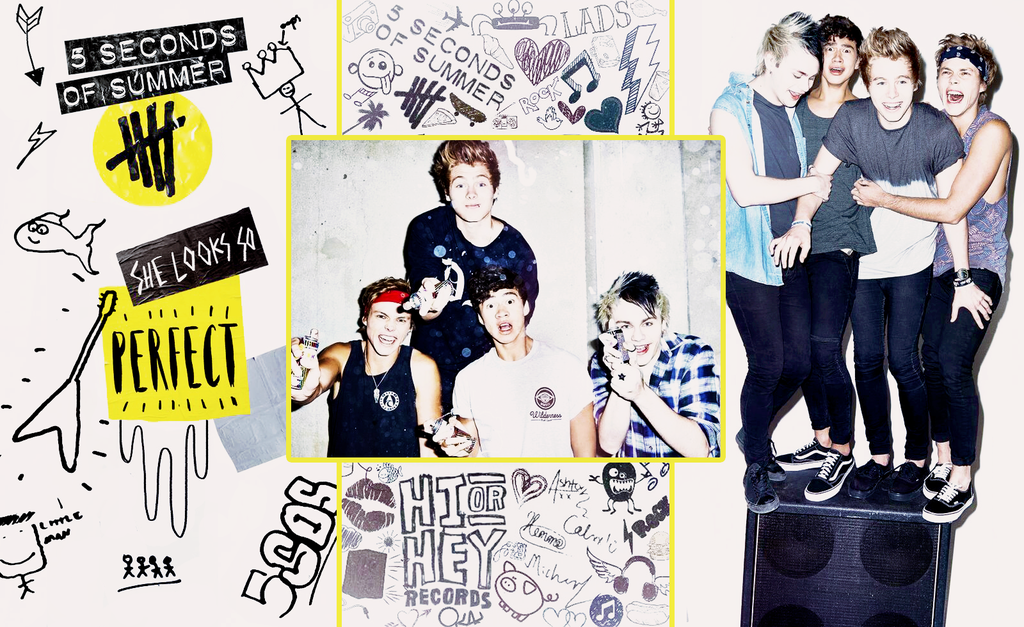 5sos Laptop Wallpaper Wallpaper Full HD 1024x627