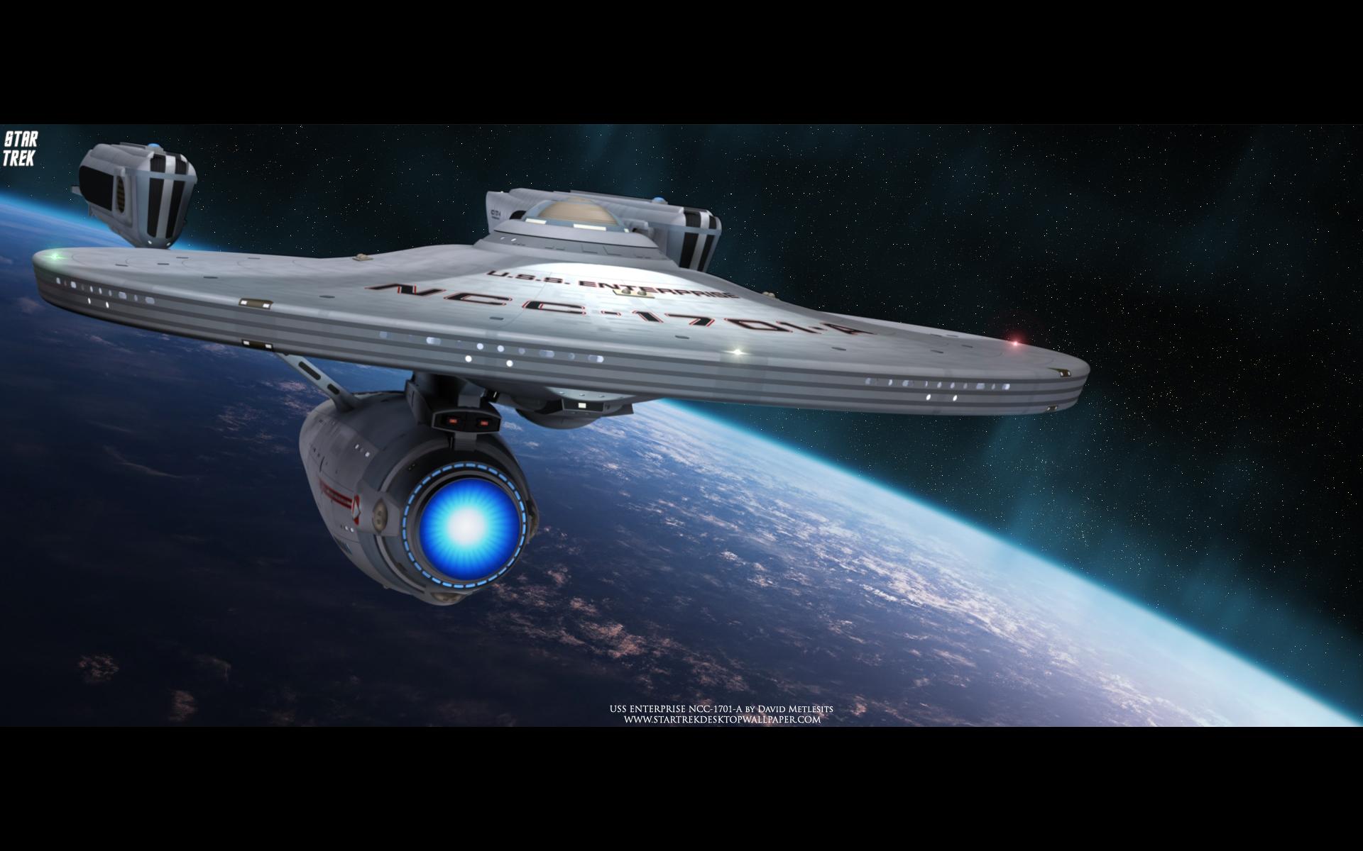 1701 A   Star Trek computer desktop wallpaper pictures images 1920x1200