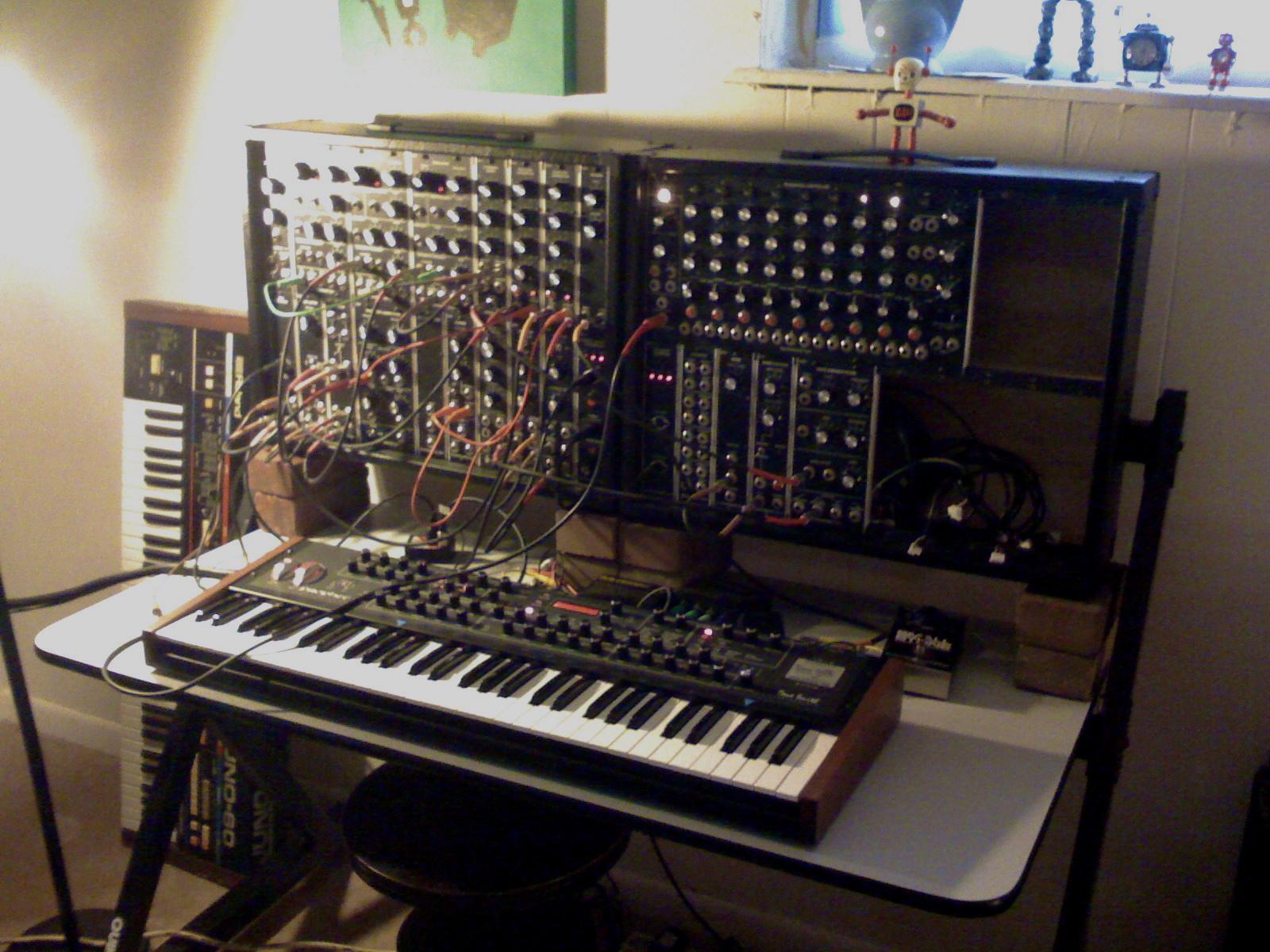 Modular Synthesizer And Prophet 08 Synthesizer   Prophet 08 1600x1200