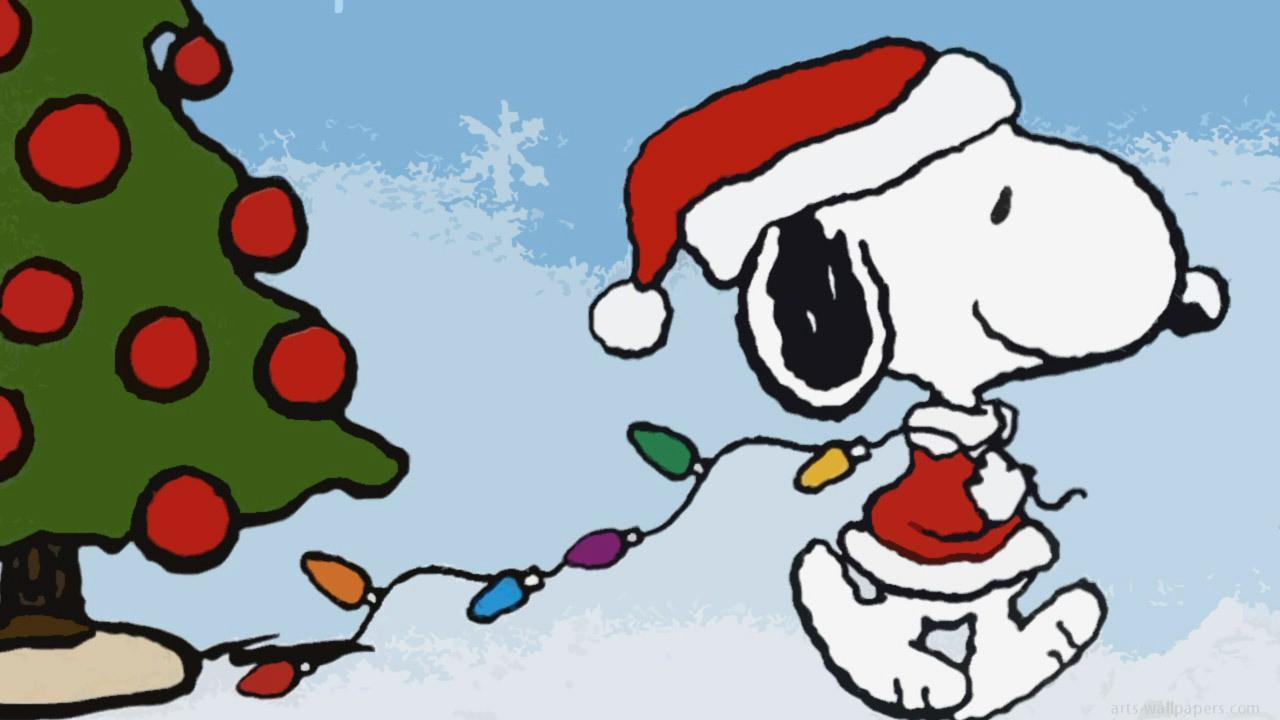 Peanuts Christmas Wallpaper - WallpaperSafari