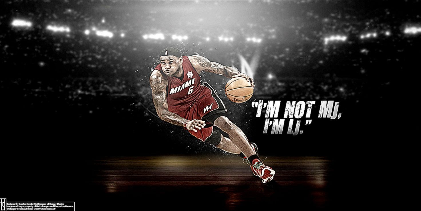 Cool LeBron James Wallpapers - WallpaperSafari
