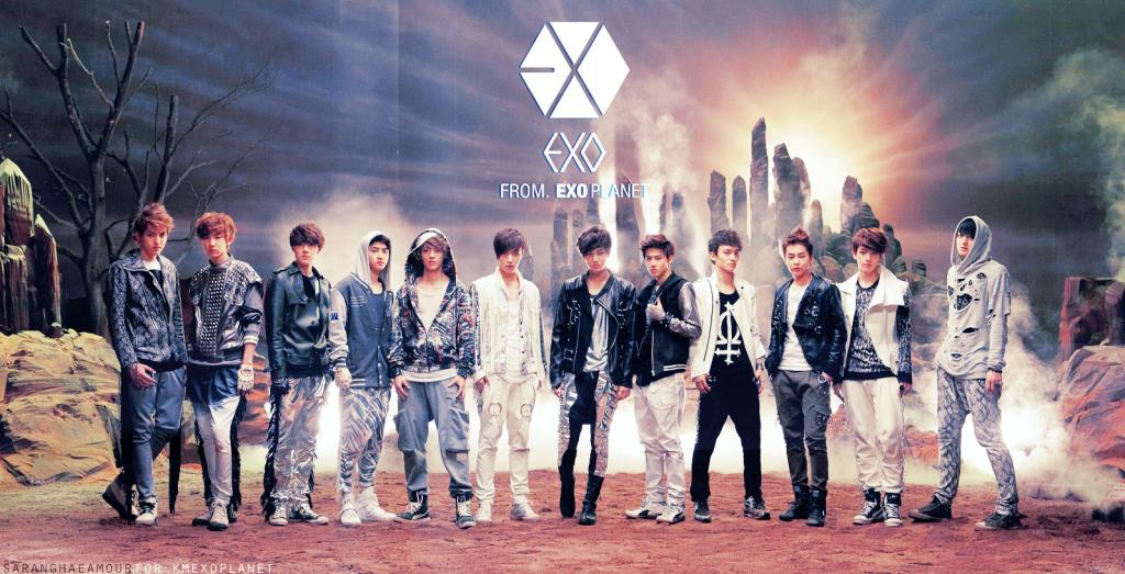 47 Exo Desktop Wallpaper On Wallpapersafari