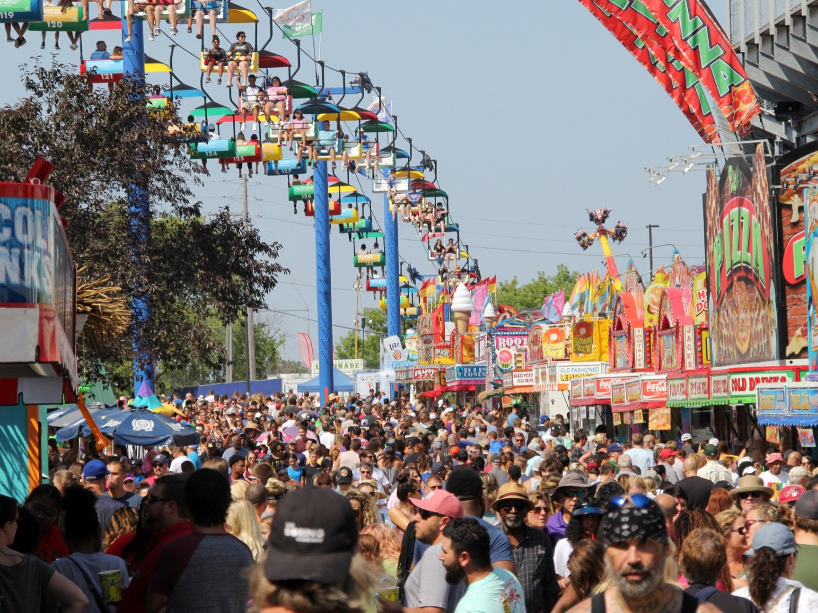 The 2019 State Fair recorded the second highest attendance in its 1600x1200