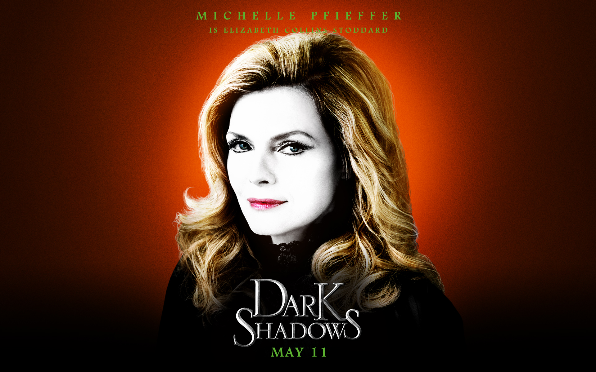 Dark Shadows wallpapers 19201200 Michelle Pfeiffer as Elizabeth 1920x1200