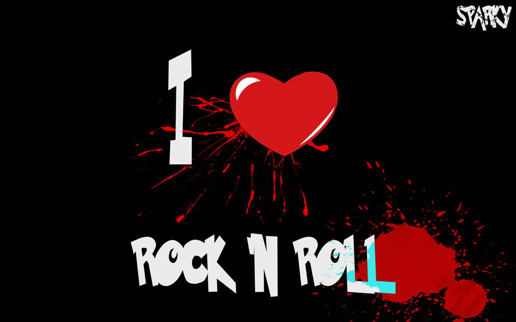 Wallpapers   I Love Rock n Roll by kixel458   Customizeorg 1050x656