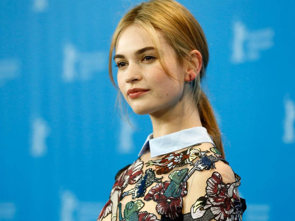 Lily James HQ Wallpapers Lily James Wallpapers   19654   Filmibeat 1024x768