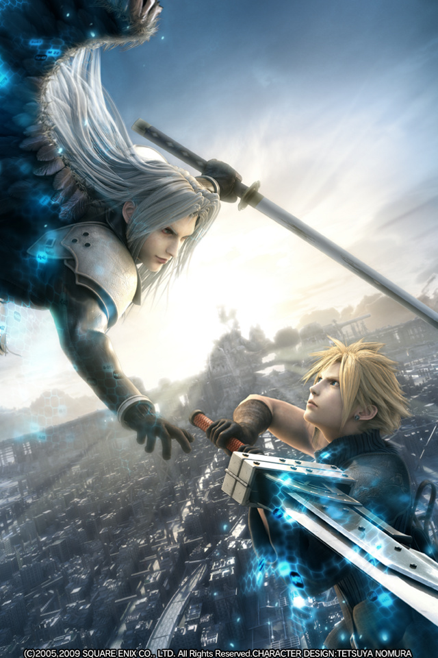 Cloud vs Sephiroth Final Fantasy VII Image 19936767 Fanpop 640x960