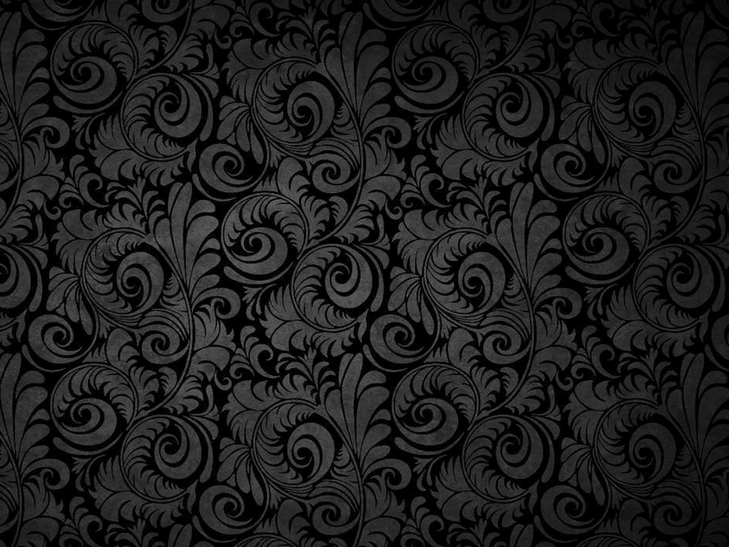 Free download Black Floral Patterns PPT Backgrounds for ...
