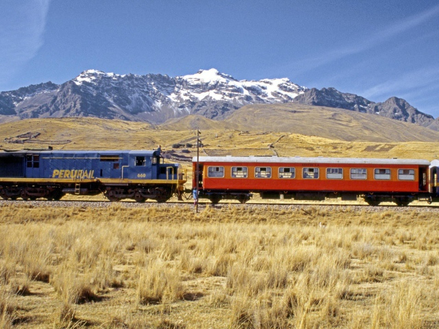 Train going to Peru wallpapers and images   wallpapers pictures 640x480