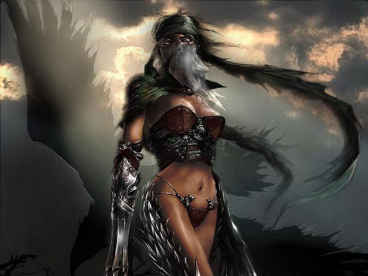 Fantasy Women Warriors Wallpaper  WallpaperSafari