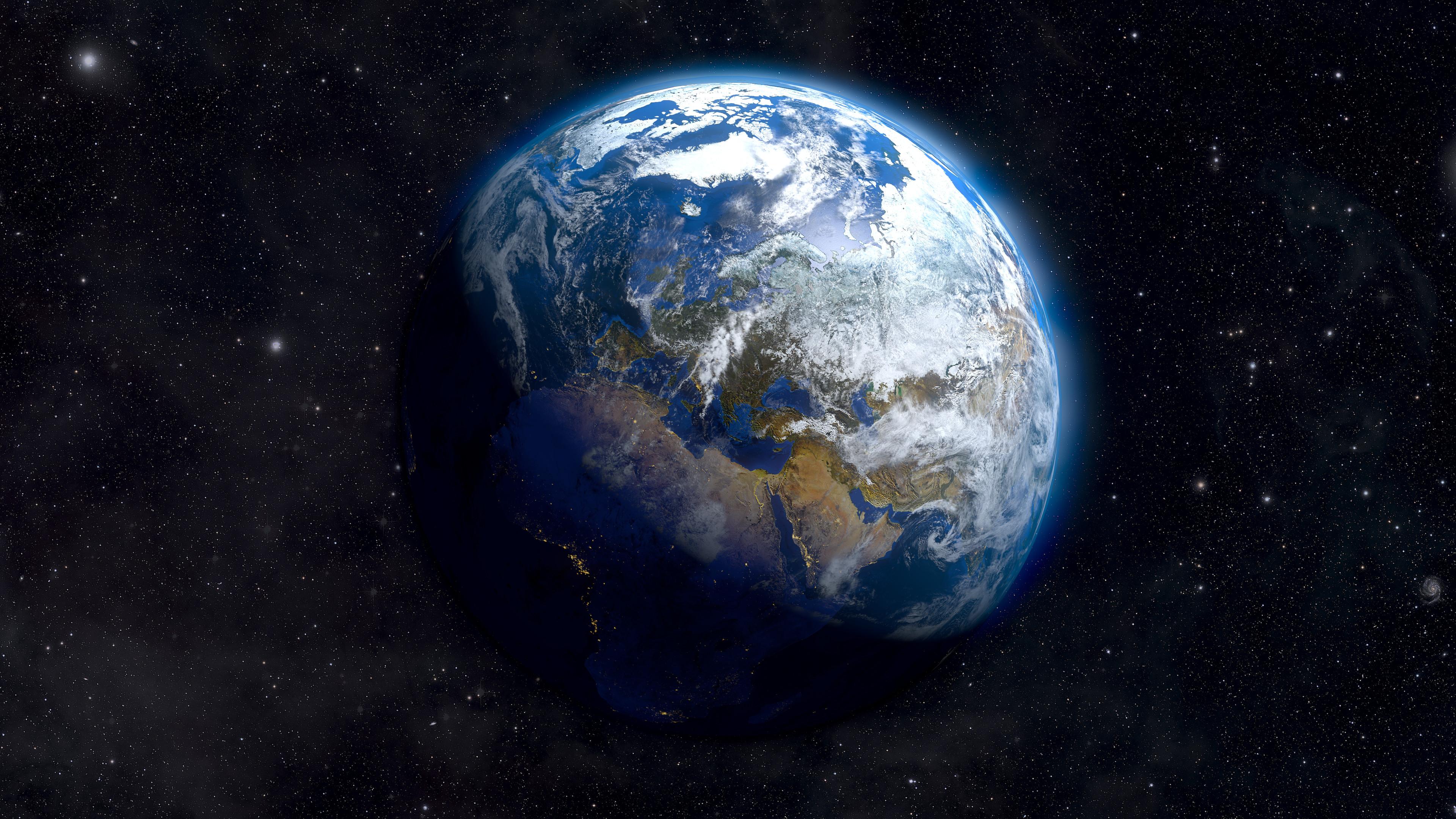 Earth From Space 4K Ultra HD Desktop Wallpaper Uploaded by 3840x2160