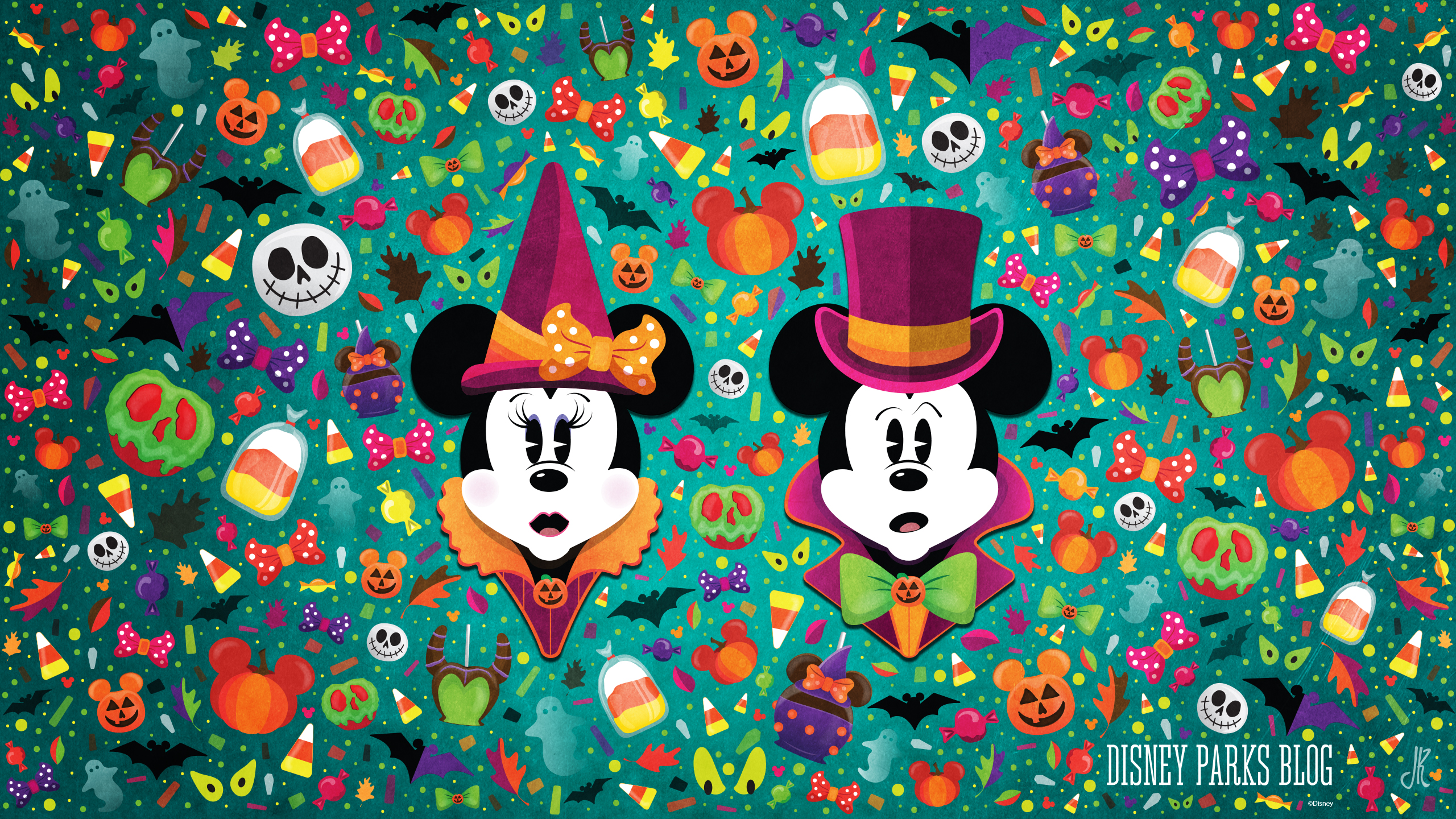 WonderFALLDisney Halloween Wallpaper Desktop Disney 2560x1440