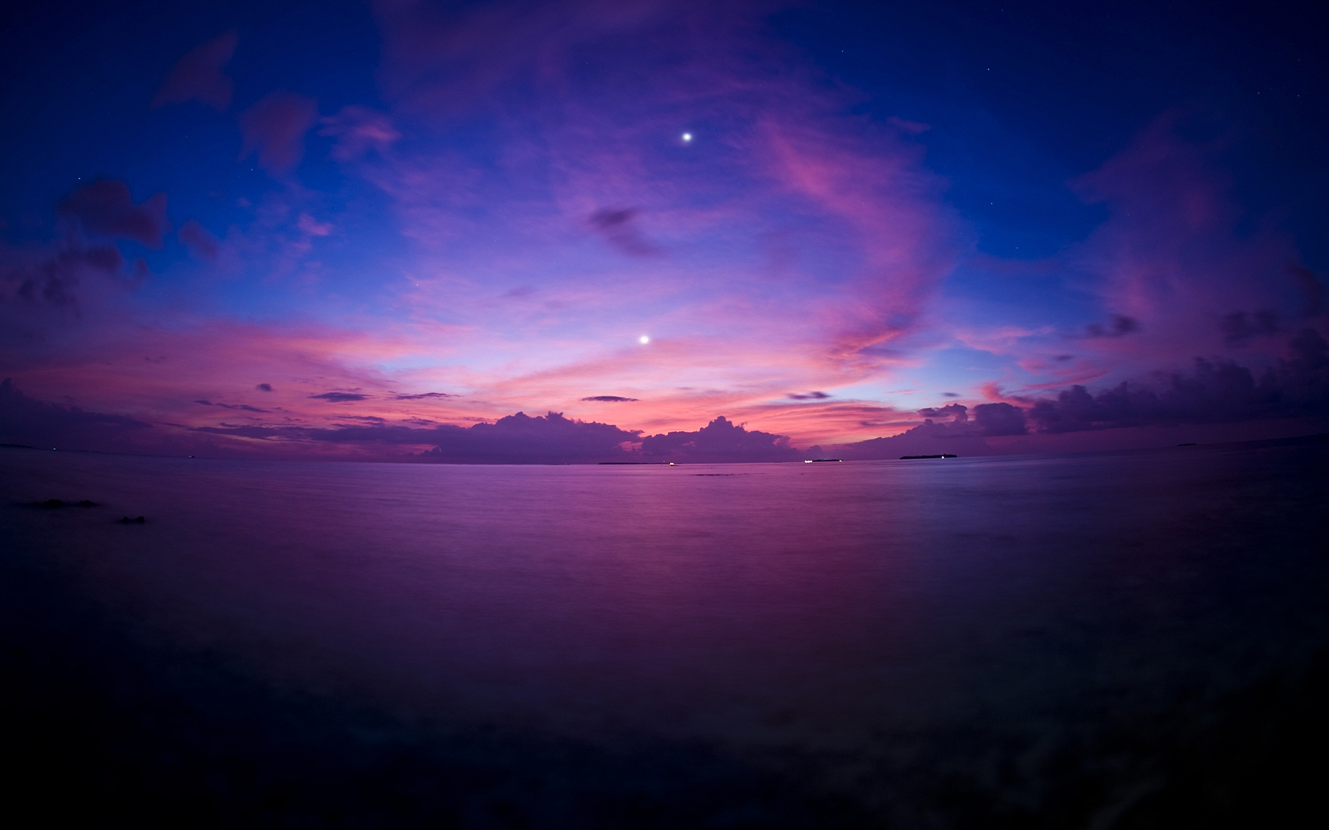 Purple Sunset Wallpapers HD Wallpapers 1920x1200