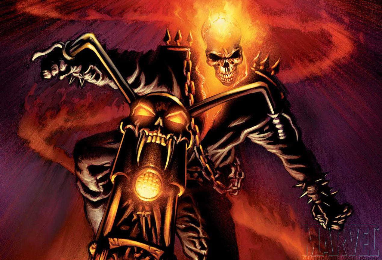 Ghost Rider Wallpaper HD Backgrounds Images Pictures 1270x866