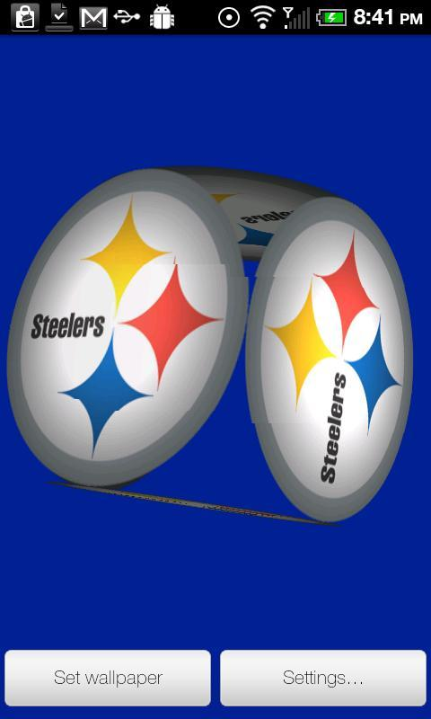 User reviews of Steelers Live Wallpaper PRO 480x800