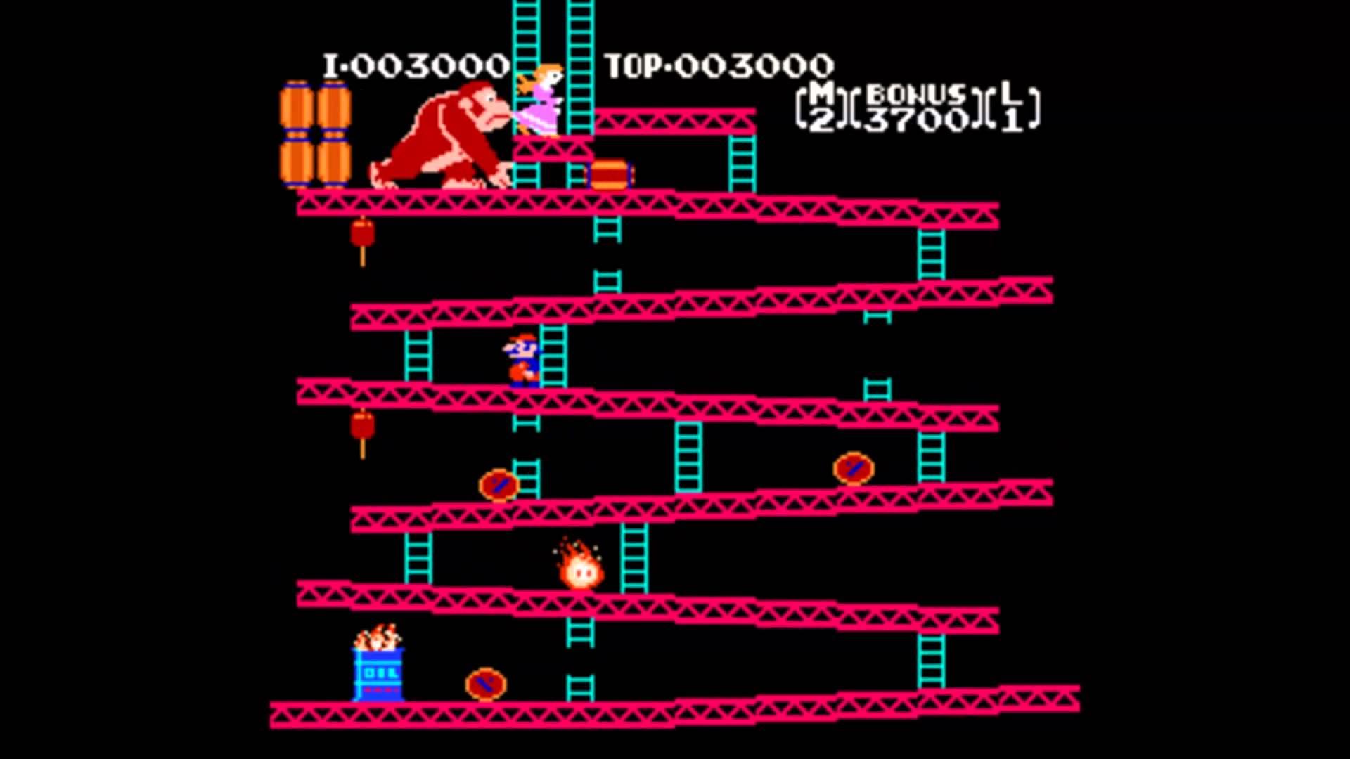Donkey Kong Arcade Wallpaper Games zoals donkey kong 1920x1080