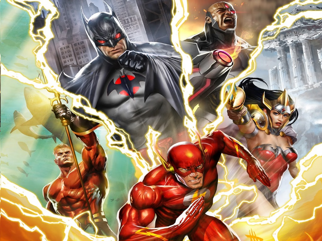 DC Comics Super Hero Flash Wallpaper 1024x768