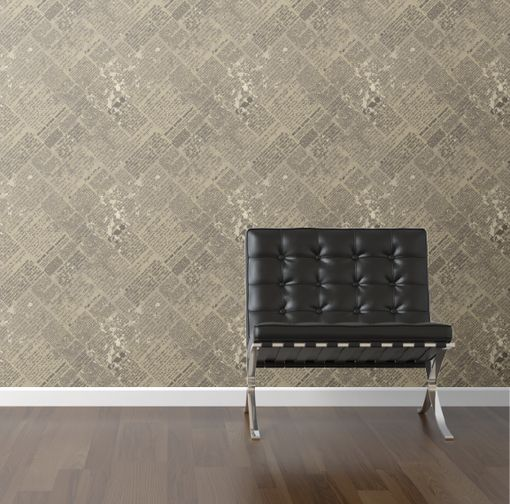 Old Newsprint removable wallpaper I wishone day Pinterest 510x504