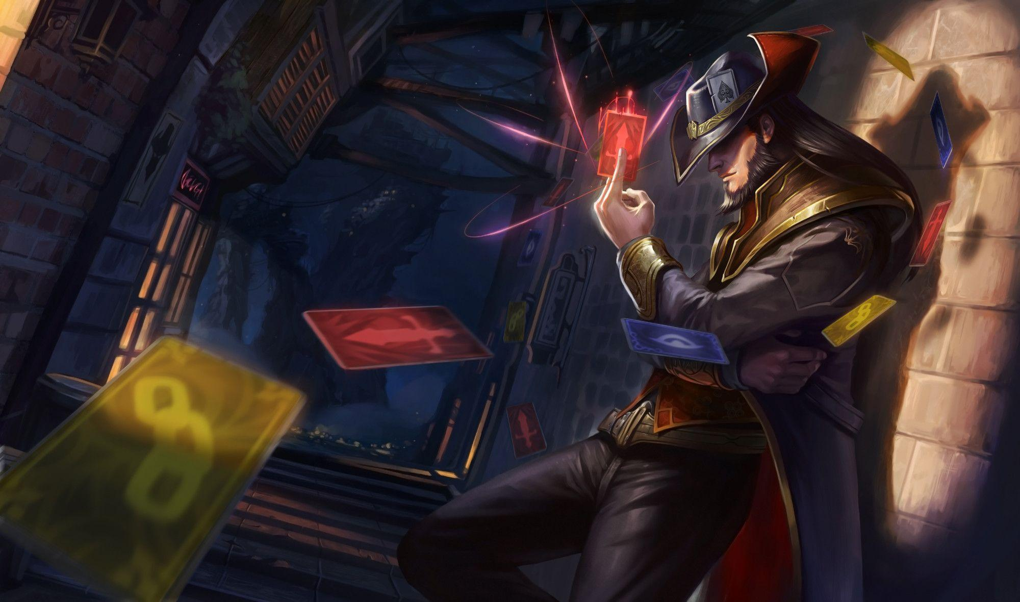 Twisted Fate Wallpapers 2000x1180