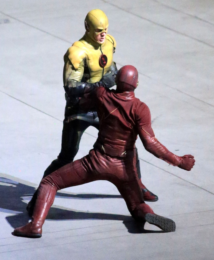 The Flash set photos reveal villain Prof Zoom aka Reverse Flash 838x1018