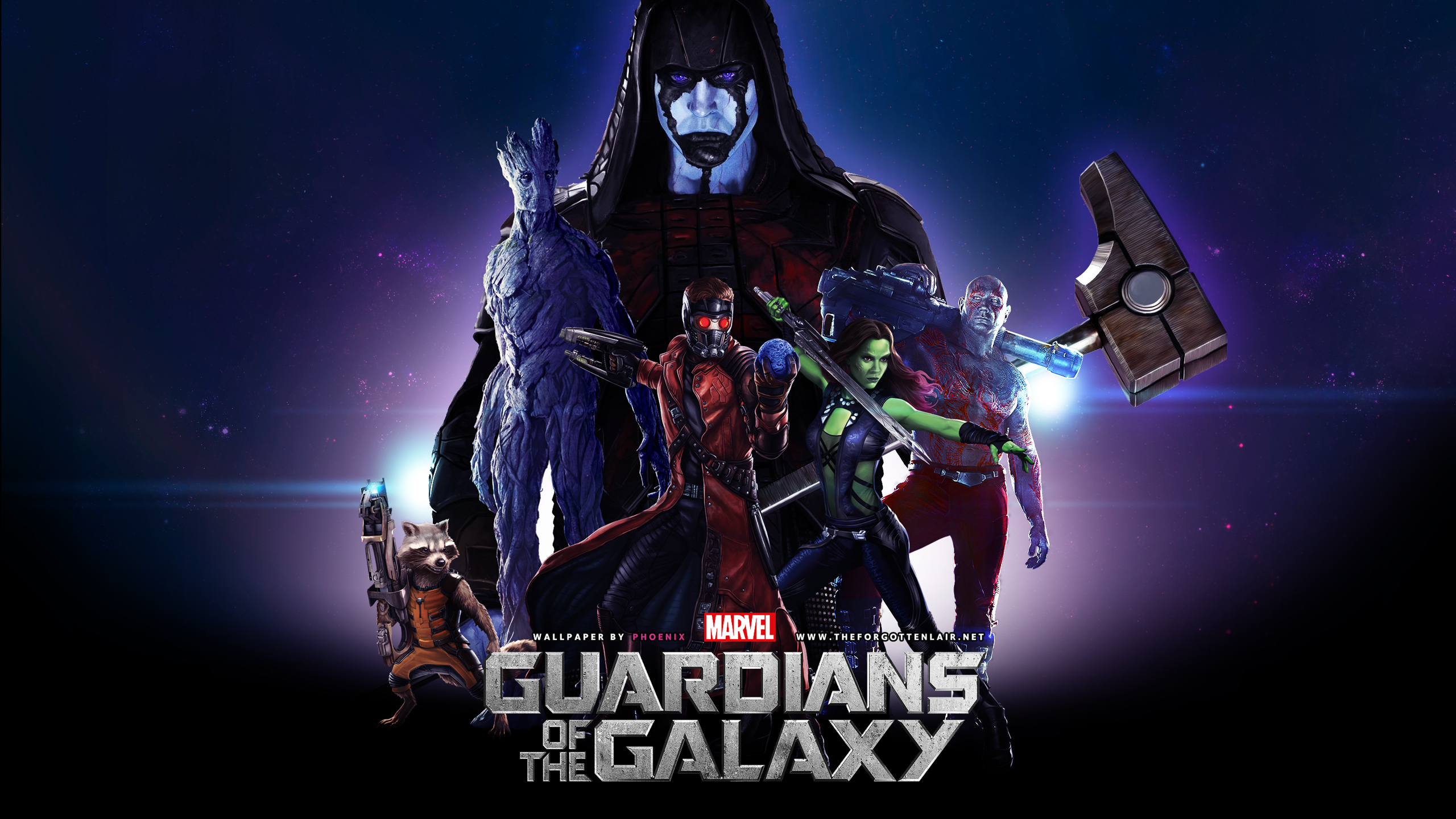 The Forgotten Lair Guardians of the Galaxy Desktop 2560x1440
