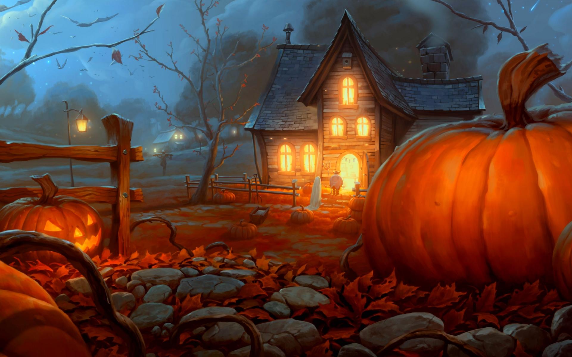 download Halloween Backgrounds for desktop 1920x1200