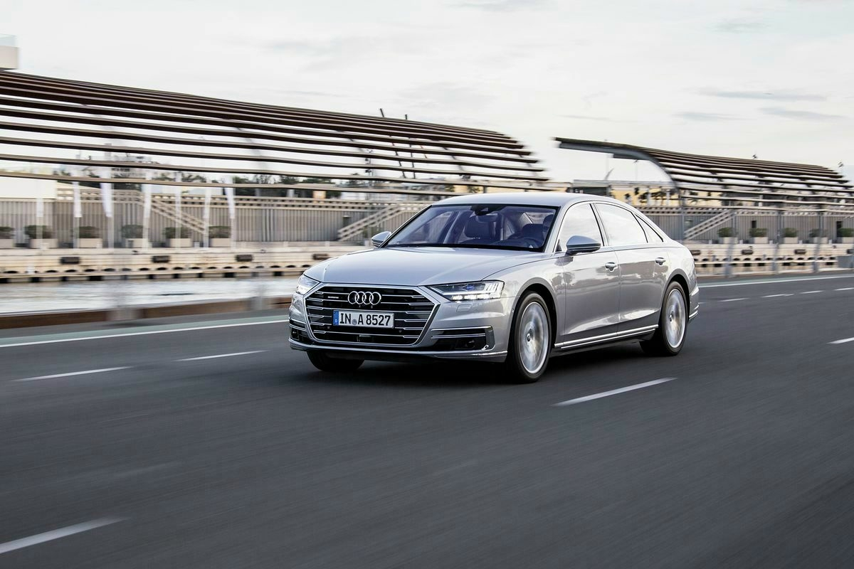 Audi A8 TFSI E HD Wallpapers Background Images Photos 1200x800