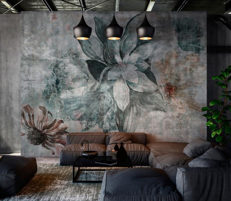 Luxe wallpaper AVALON by TecnoGrafica Italia 800x694