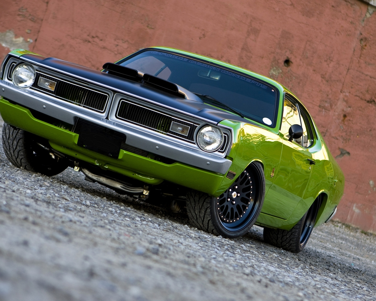 Customized 1972 Dodge Dart Demon Wallpaper 84349 Images   Frompo 1280x1024
