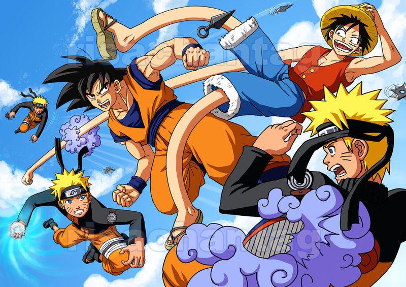 49+ Naruto and Goku Wallpaper on WallpaperSafari