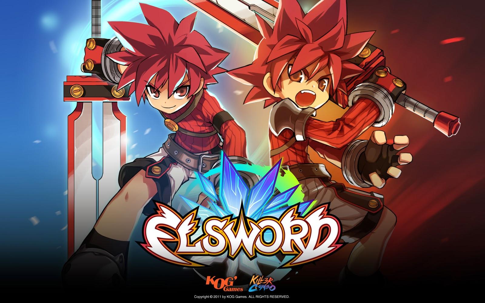 KamiNoBeniMizu Online Games Elsword Elsword Wallpapers 1600x1000