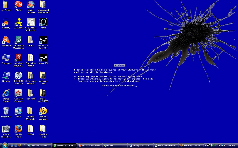 Pin Blue Screen 1440x900