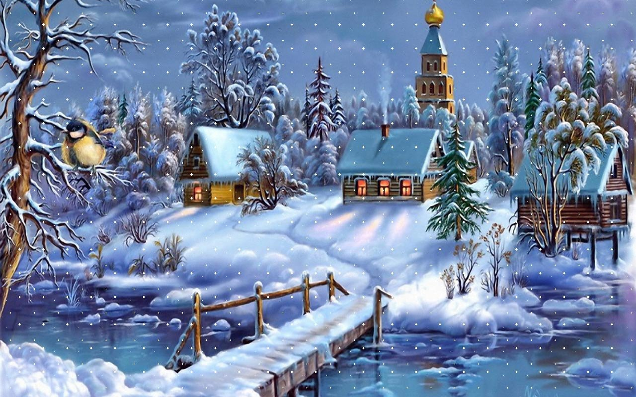 76 Free Winter Background Wallpaper On Wallpapersafari